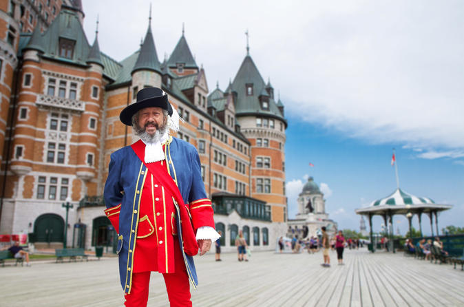 Excursão guiada do Fairmont Le Château Frontenac na cidade de Quebec