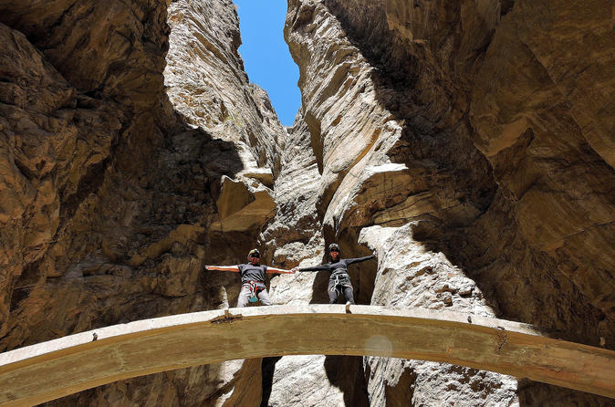 Full-Day Hiking and Rappelling Adventure to Autisha Canyon from Lima, Peru