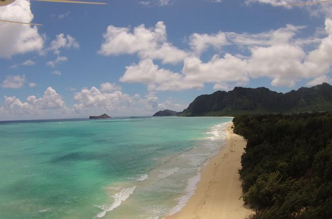 Drone Tour Oahu Beaches and History Small Group Tour