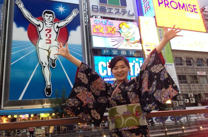Kimono Experience in Osaka