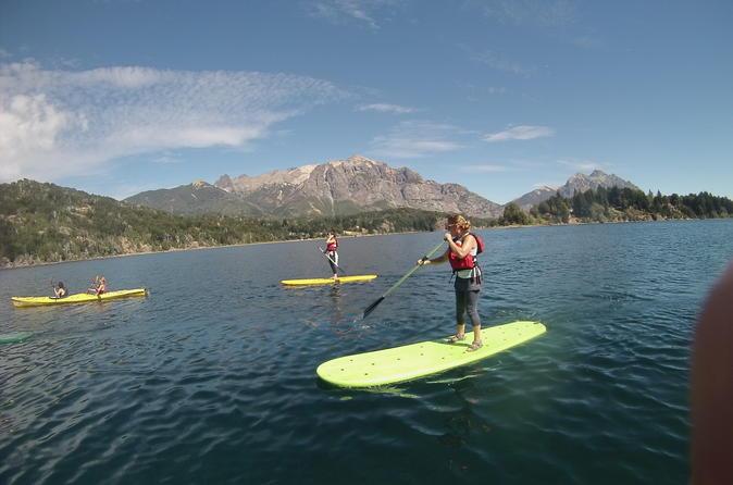 1.5-Hour Lago Gutierrez Paddle Boarding Tour from Bariloche