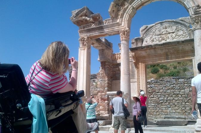 Wheelchair Accessible Easy Ephesus Tour From Kusadasi Cruise Port And Hotels