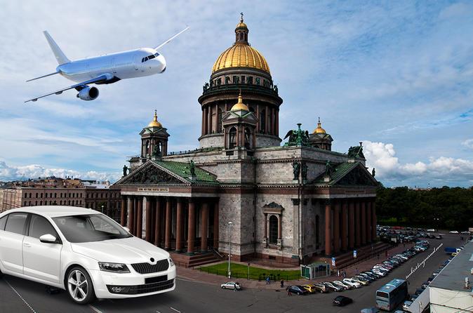 Departure transfer to Pulkovo airport St Petersburg
