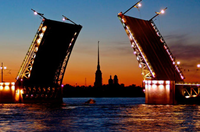 St. Petersburg Drawbridges Private Tour