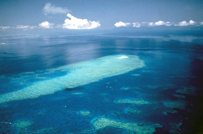 Great Barrier Reef Scenic Flight from Cairns Including Green Island, Oyster Reef, and Heart Reef