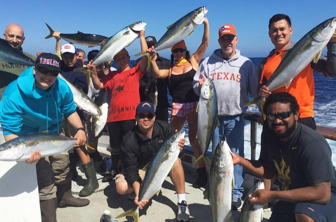 Half-Day Deep-Sea Fishing Cruise from San Diego