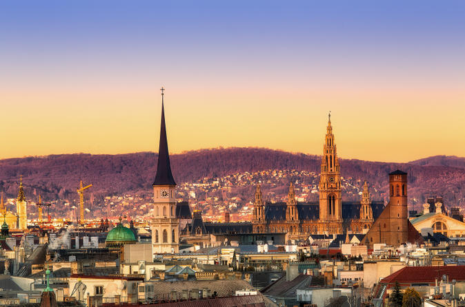 6-Night Independent Rail Experience: Prague, Vienna and Budapest with City Sightseeing Tours