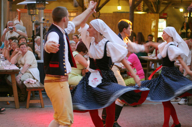 Prague Folklore Party Dinner and Entertainment