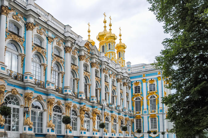 Two Day St Petersburg Excursion: City Center and Summer residences