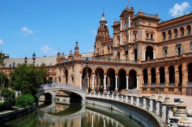 Alcazar, Catedral, bairro de Santa Cruz, Arena de touradas e Excursão de cruzeiro fluvial em Sevilha