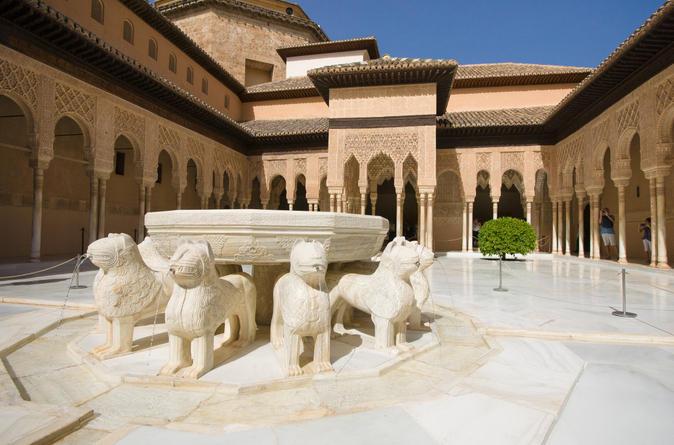 Viagem de um dia para Granada, incluindo Alhambra e Jardins de Generalife, saindo de Sevilha