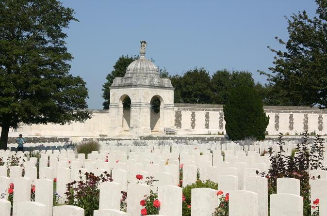 Excursão pelos Campos de Batalha de Flandres na Primeira Guerra Mundial saindo de Bruges