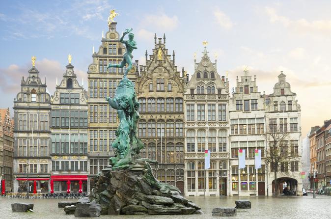 Passeio de meio dia pela Antuérpia saindo de Bruxelas