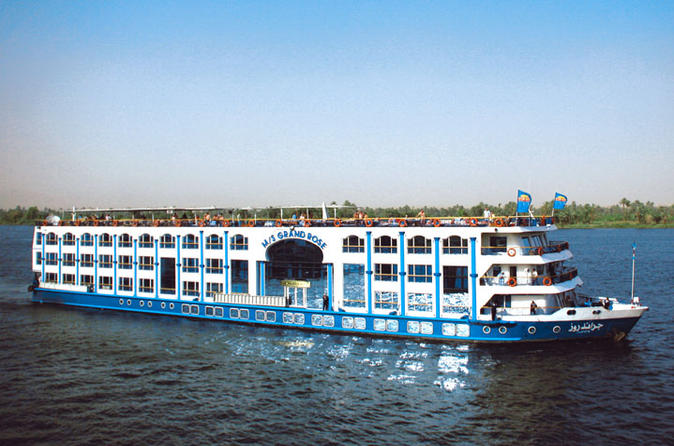 Budget 4-Day Nile Cruise from Aswan to Luxor