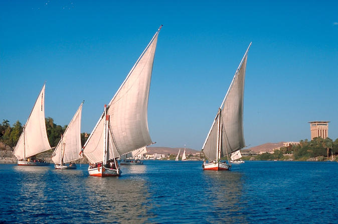 Nile Trip on Felucca for an hour in Aswan