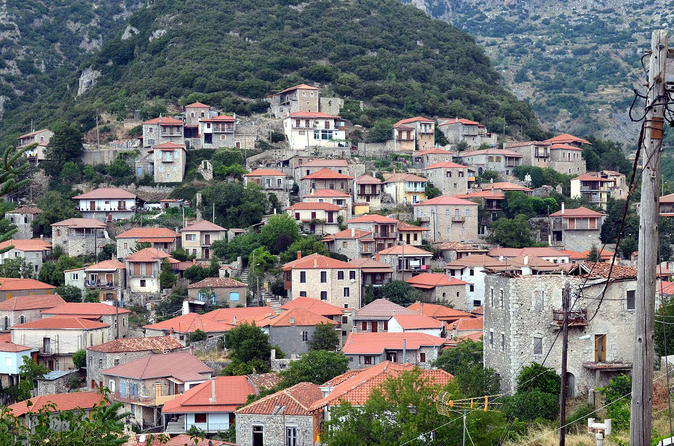 Mountain Villages of Peloponnese, Monasteries and Lousios River Private Day Trip