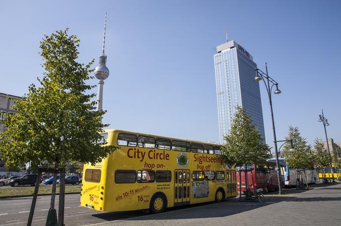 Berlin 3-Day Hop-On Hop-Off Combo Tour: City Circle Plus Mitte, Kreuzberg, Friedrichshain and Prenzlauer Berg