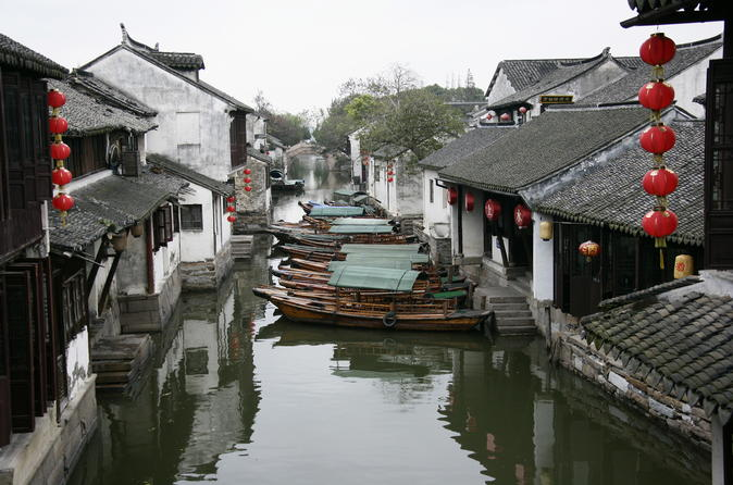 Half Day Tour of Zhouzhuang Water Village Tour from Shanghai
