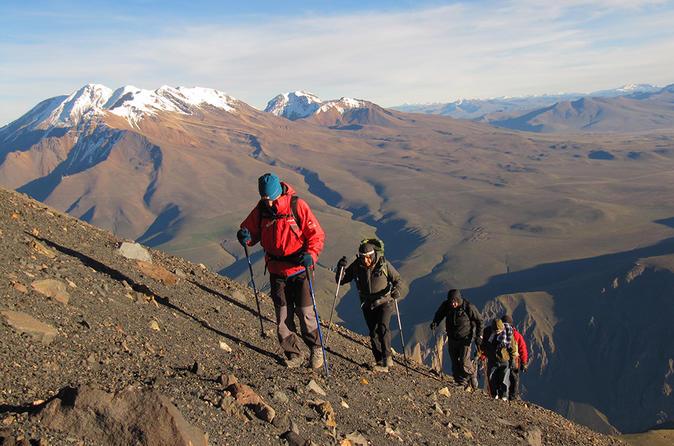 2-Day Climbing Misti Volcano from Arequipa