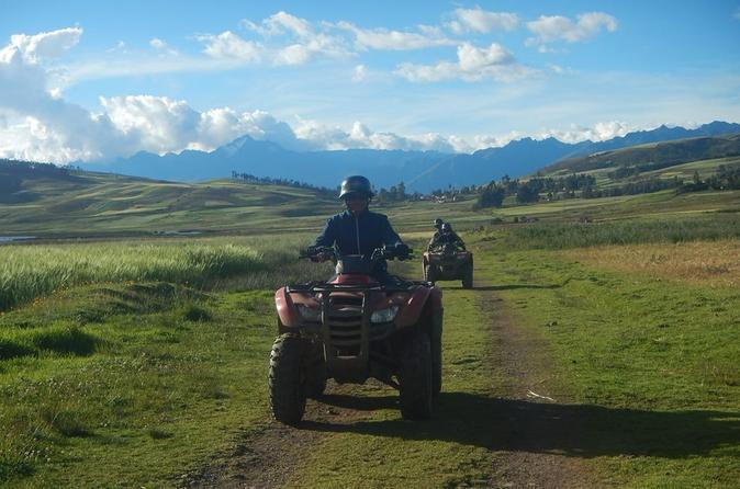Excursão com ATV pelo Vale Sagrado saindo de Cusco