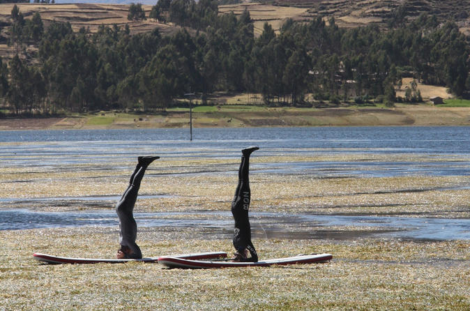 Stand Up Paddling and Yoga in Piuray Lake from Cusco