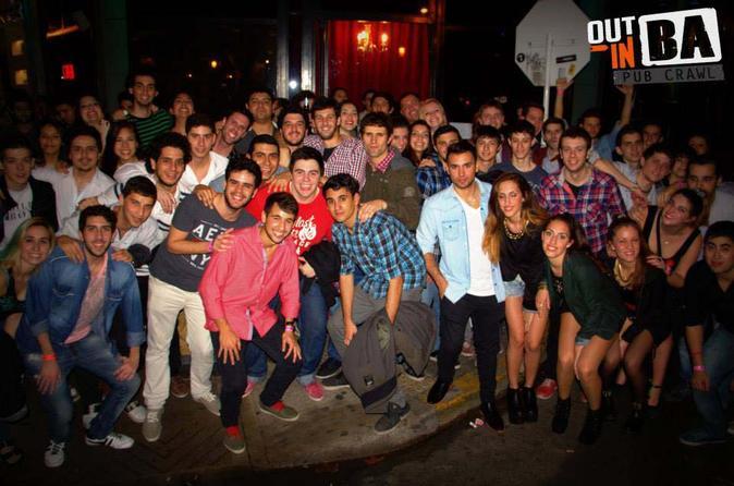 Pub Crawl de meio dia em Buenos Aires