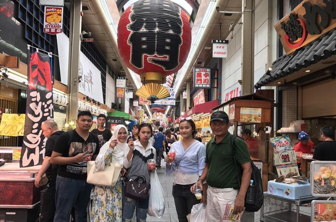Private Full Day Muslim-Friendly Walking Tour of Osaka""