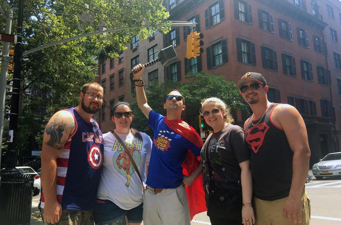 The Super Tour of NYC Heroes Comics and More