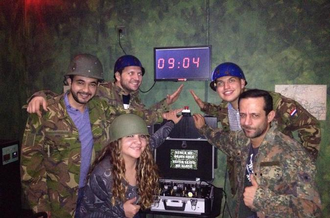 Escape Game in Guadalajara: Save the World in a Bunker