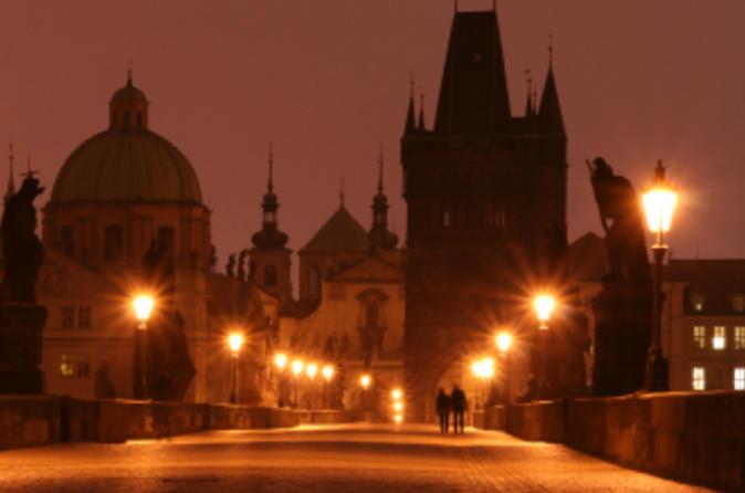 Excursão a pé sobre fantasmas em Praga
