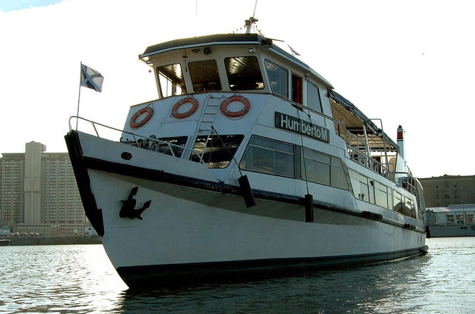 Navigation by the Rio de la Plata from Madero Port