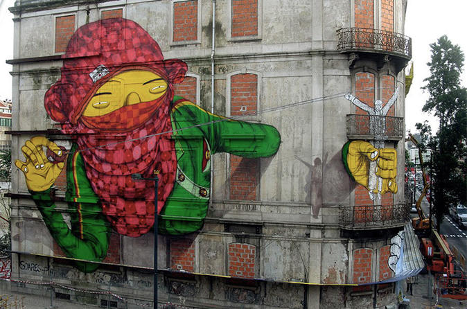 The Real Lisbon Street Art Private Tour
