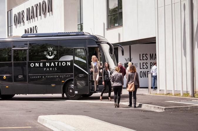 Versailles One Nation Paris Fashion Outlet Transfer Service France, Europe