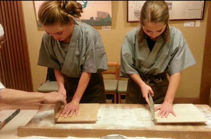 Soba Buckwheat Noodle Making Tour in Tokyo