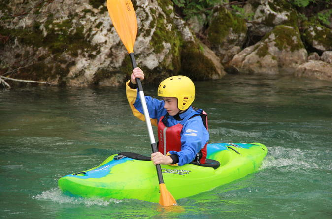 5 day kayak course on soca river from bovec in bovec 306891