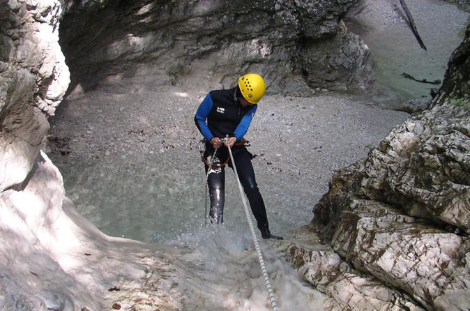 Extreme Canyoning In Soca Valley
