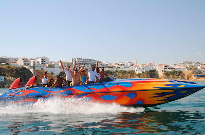 Ocean rocket dolphins and caves with speed in albufeira 321515