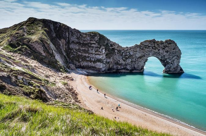 Jurassic Coast Private Tour from Dorset Including Lulworth Cove Durdle Door and Corfe Castle