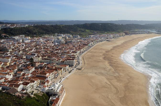Excursão gastronômica particular de Óbidos, Nazaré e Batalha saindo de Lisboa