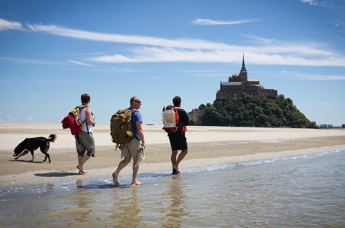 Walking tour of le mont saint michel in mont saint michel 252377