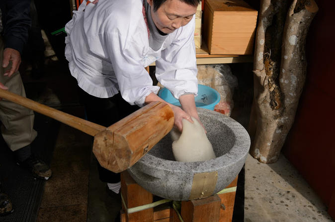 Experience visiting a local farmer and mochi rice cake making in kyoto 260797