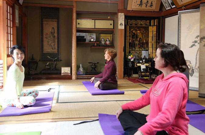 Healing Pilates Session and Japanese Homecooking Experience