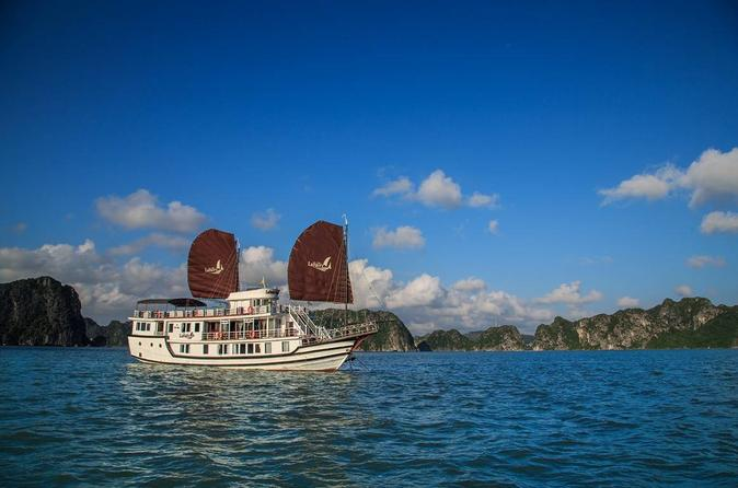 Overnight Halong Bay Cruise with Top Deck Dinner