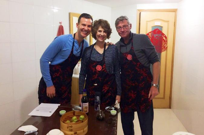 Three-Colored Soup Dumplings Cooking Class in Shanghai