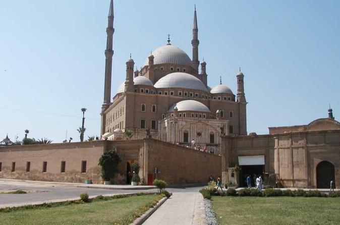 Excursão de meio dia particular para a cidadela e Mesquita Mohamed-Ali no Cairo com almoço