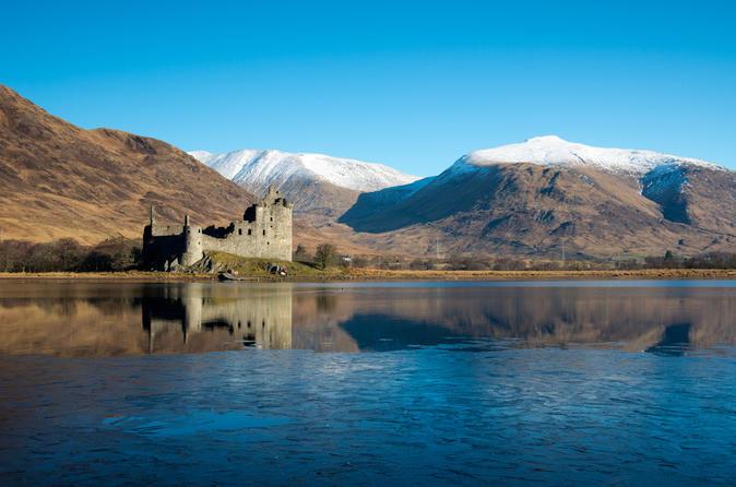 Viagem diurna para grupos pequenos aos lochs e castelos de West Highland, e Glencoe saindo de Glasgow