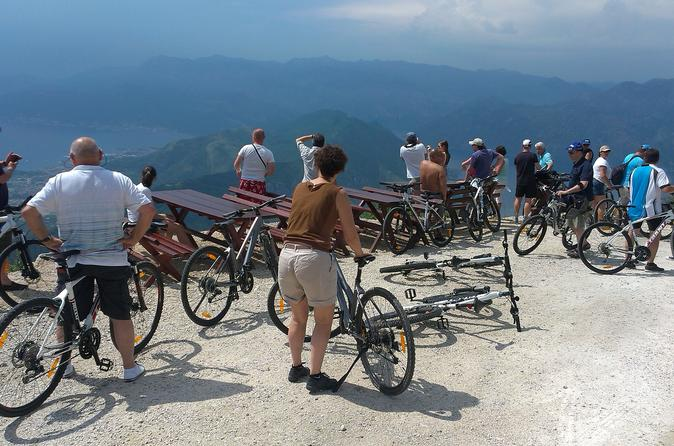 Epic 25 turns bike descent with panoramic views of montenegro in kotor 283182