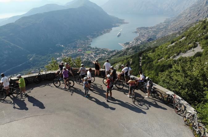 Epic 25 turns bike descent with panoramic views of montenegro in kotor 636620