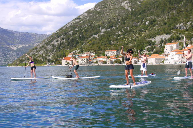 Stand up paddling at kotor bay from tivat or kotor in tivat 333971