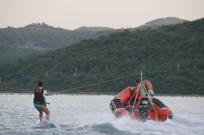 Wakeboarding And Waterskiing Experience In Tivat Bay From Kotor, Tivat Or Budva